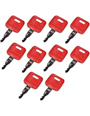 Friday Part 10PCS Ignition Keys H800 for Hitachi John Deere Excavator Case Dozer Fiat New Holland
