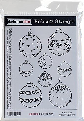 Darkroom Door Fine Baubles Cling Stamps, 7