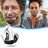 Durable Transparent Face_Mask, Clear_Shield