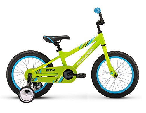 Raleigh Bikes Kids MXR 16 Bike, One Size, Green