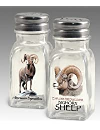 Buy American Expedition Glass Salt and Pepper Shaker Sets (Bighorn Sheep) by American Expeditions deal