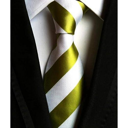 YUFSHU Corbatas De Moda Raya Clásica De Los Hombres Corbatas De ...
