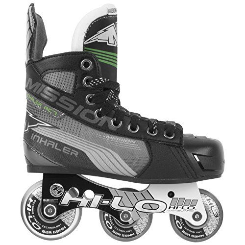 - Mission Inhaler AC7 Youth Inline Hockey Skates, E