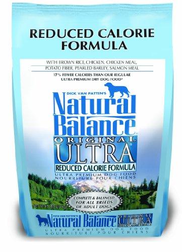Reduced Calorie Formula - Natural Balance Original Reduced Calorie Formula Dry Dog Food, 4.5-Pound