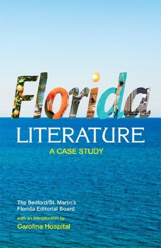 Florida Literature: A Case Study