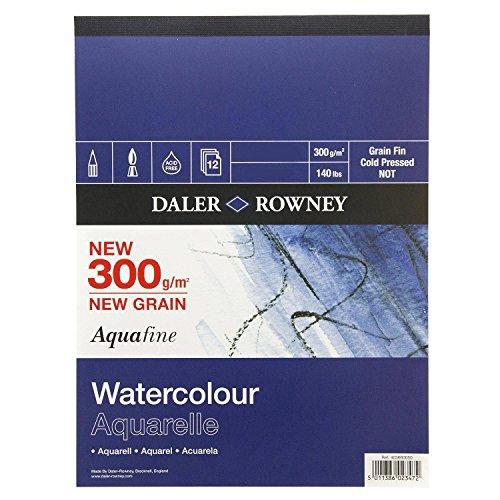 Daler Rowney Aquafine Pad 300gsm 508x406mm (20x16