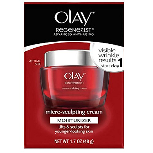 Olay Regenerist Micro-Sculpting Cream Fragrance-Free 1.7 Fl