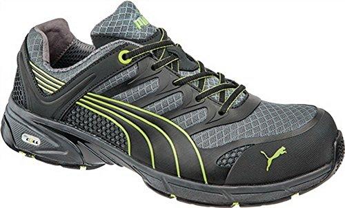 EN20345S1P Chaussures de Sécurité Fuse Motion Green Low Tissu Taille 40KU. Casquette de