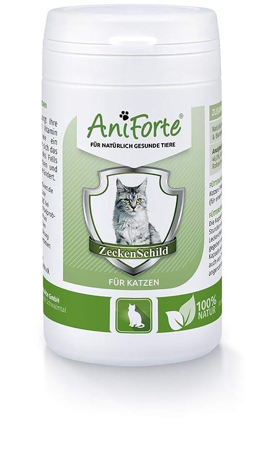 Pastillas AntiGarrapatas para Gatos (60 cápsulas) | Producto 100% Natural para Gatos |