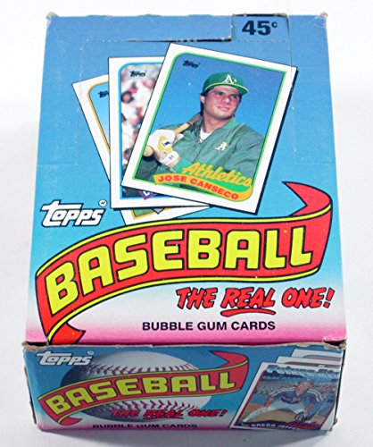 1989 Topps Baseball Cards Box (36 packs) -