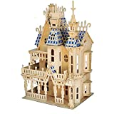 Big Dream Villa 3D Wooden Puzzle Model Woodworking Building Kit - Building Toy Craft Puzzle - Top...