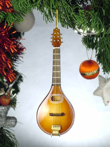 Mandolin Tree Ornament ()