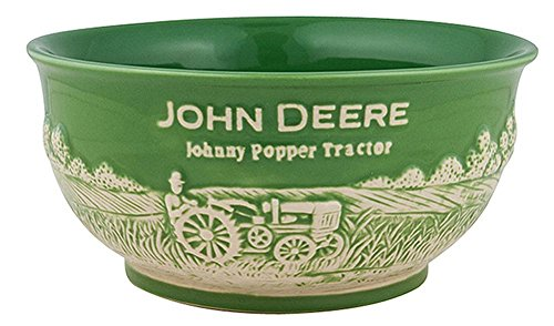 John Deere Small 16 OZ Stoneware Bowl