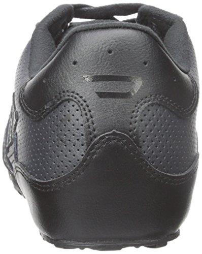 Diesel Mens Harold Moda Solare Sneaker Nero