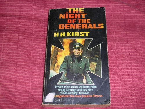 The Night Of The Generals by Hans Kirst