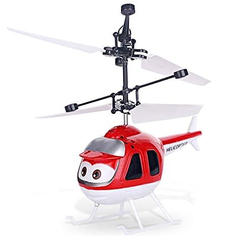 Flying Toy Drones para niños, Mini Drone operado a Mano, Juguete ...