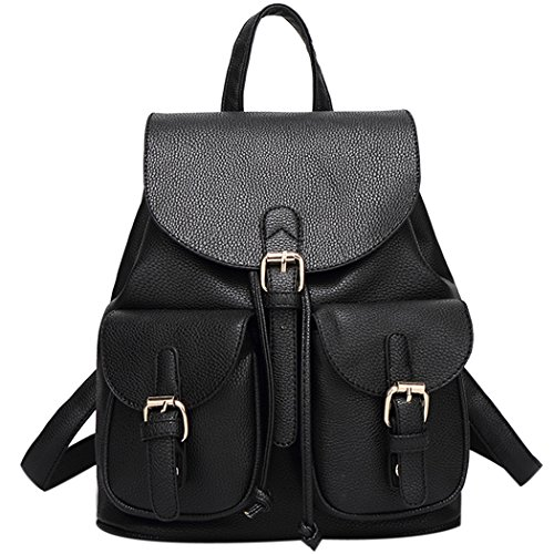 Little Black Backpack: Amazon.com