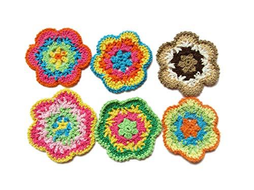 Crochet Flower Embellishment - 9