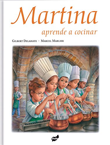 Martina aprende a cocinar (Spanish Edition)