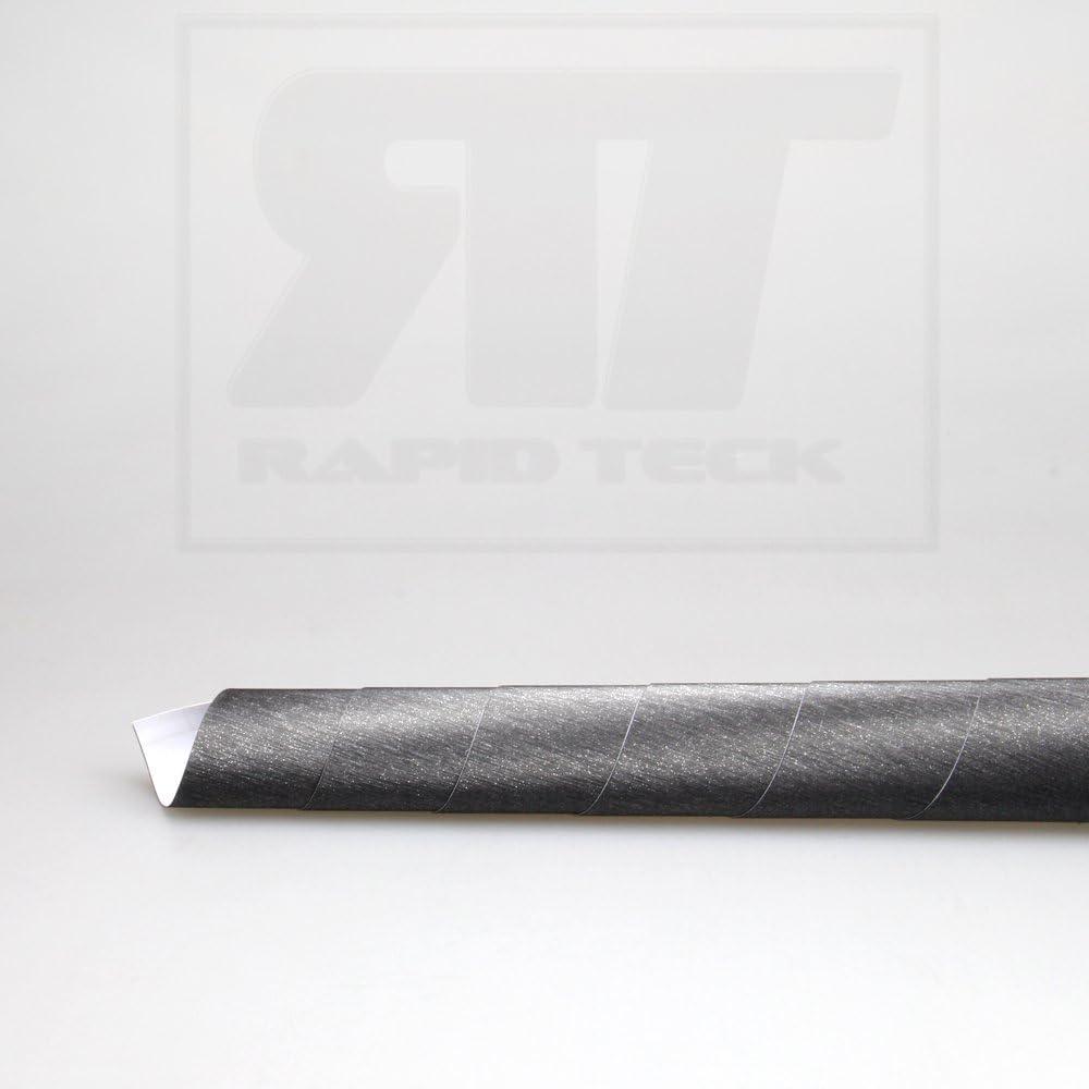TipTopCarbon 16,45/€//m/² Autofolie Aluminium geb/ürstet Titan Grau 1m x 1,52m Auto Folie BLASENFREI mit Luftkan/älen 3D Flex