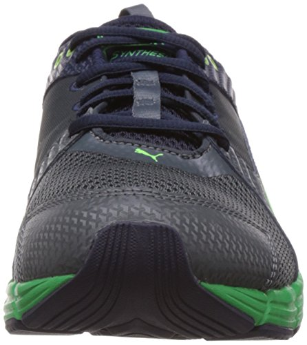 PumaSynthesis - Zapatillas de running adultos unisex Turbulence/Pcoat/Green