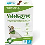 Whimzees 30 Day Pack Dog Dental Treats, Small Brushzees, Pack Of 30
