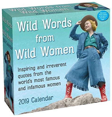 Wild Words from Wild Women 2019 Day-to-Day Calendar