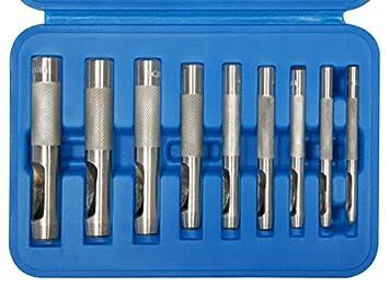 9-tlg 565 3-12 mm in Kunststoffkassette BGS Locheisensatz