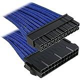 BitFenix ATX 24-Pin 30cm - Cable de alimentación ATX 24 pin, negro y azul