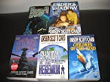 5 Book Set by Orson Scott Card Ender Series~ Ender's Game/Ender's Shadow/Speaker for the Dead/Shadow of the Hegeman/Children of the Mind