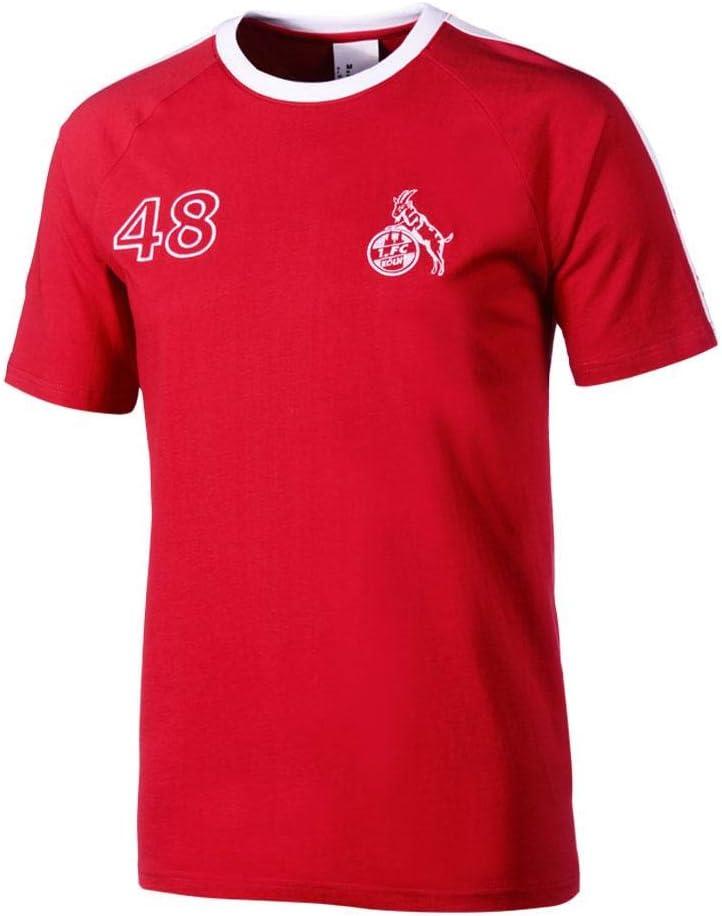 uhlsport Herren 1.fc K/öln Retro 1948 App T-Shirt