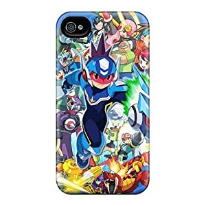 Evanhappy42 Cases Covers For Iphone 6plus - Retailer Packaging Megaman Protective Cases