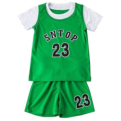 FDRYA Niños Niñas Baloncesto Camisa Chaleco Top # 23 Lakers ...