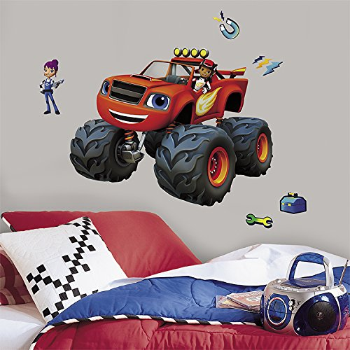 RoomMates RMK3118GM Blaze Aj and Gabby Peel and Stick Giant Wall Decals