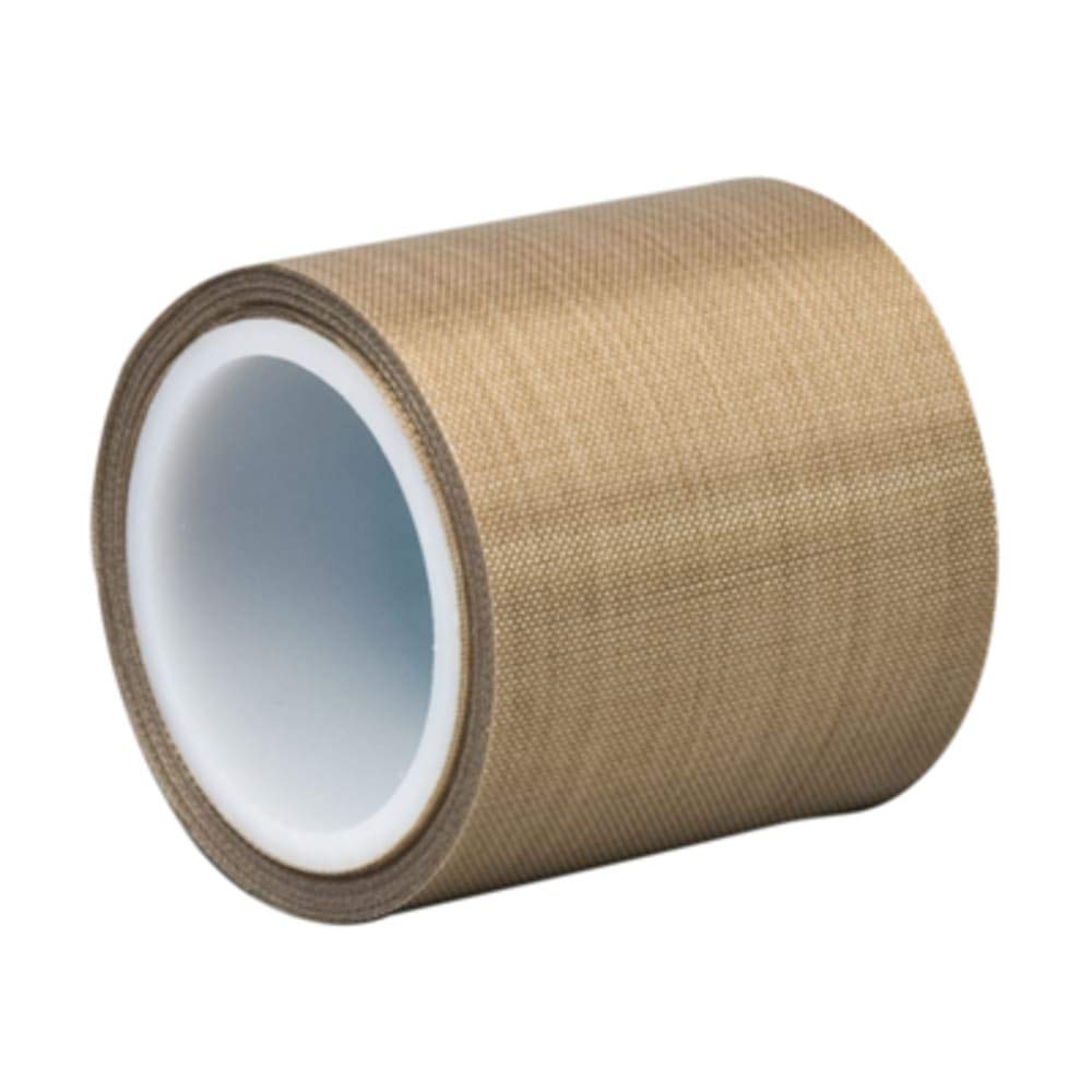 PTFE Glass Cloth; 5.6 mil; Silicone - 1in x 36yd Roll