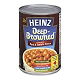 HEINZ Deep Brown Beans with Pork, 398ml