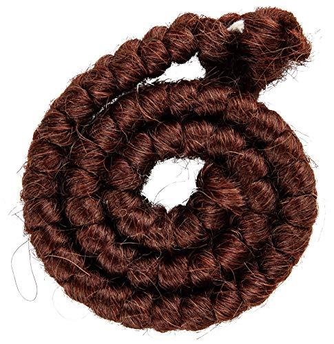 Mehron Makeup Crepe Hair 12-inch Braid (Auburn) ()