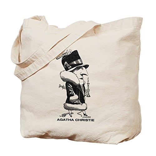 CafePress–Agatha Christie–Gamuza de bolsa de lona bolsa, bolsa de la compra