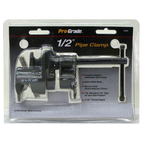 Pro-Grade 59164 Pipe Clamp, 1/2-Inch