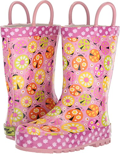 Western Chief Kids Ladybug Garden Rain Boot Pink 12 by Western Chief