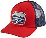 Patagonia Men's Pointed West Trucker Hat (One Size, French Red)