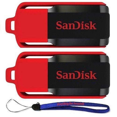 SanDisk SDCZ52 032G B35 2PK Everything Stromboli Lanyard