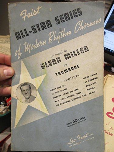 Feist All Star Series of Modern Rhythm Choruses for (Glenn Miller Trombone)