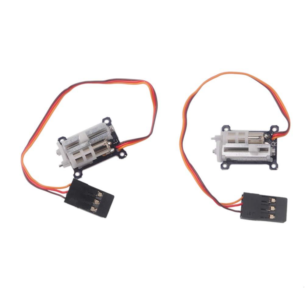 1 Pair Digital Ultra Micro 1.5g Linear Servo Tiny for Aircraft Servo Tester 51wyk32BTqRL