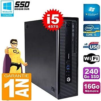 HP PC ProDesk 600 G1 SFF Core i5 – 4570 RAM 16 GB 240 GB SSD ...