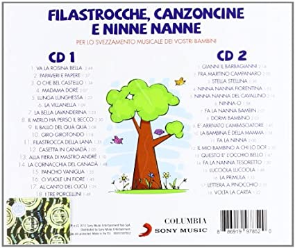 Filastrocche Canzoncine Ninne Nanne Various Amazonit Musica