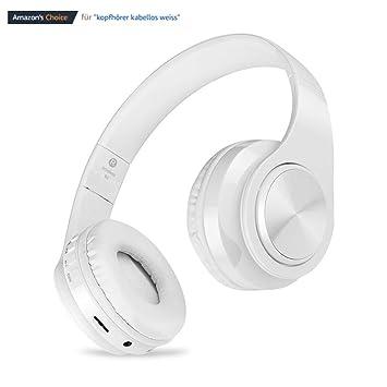 Qilian B3 Auriculares Supraurales Bluetooth Over-Ear Auriculares de Diadema Cerrados Cascos Inálambrico con Micrófono