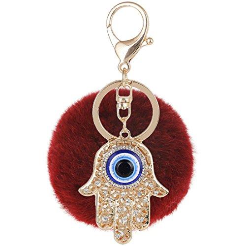 RagBear Evil Eye Keychain Bulk Elephant For Men Women Greek Green India D by RagBear