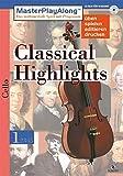 MasterPlayAlong, Classical Highlights 1, CD-ROMs : Violoncello, 1 CD-ROM Für Windows 95/98