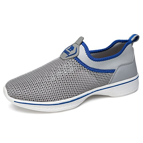 Camel Womens Mens Walking Shoes Slip On Shoes Casual Sneakers Breathable Mesh Lightweight Sneaker for Walk  Price: $27.99